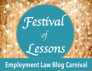 Festival of Lessons Employment Law Blog Carnival